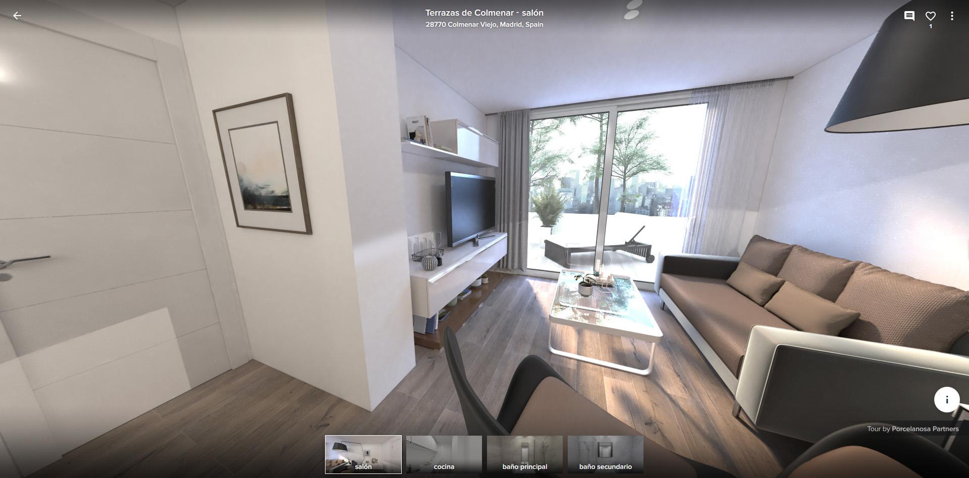 Residencial Las Terrazas de Colmenar Visita Virtual
